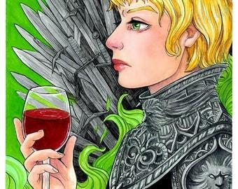Hear Me Roar - 11 x 17 print Cersei - Game of Thrones