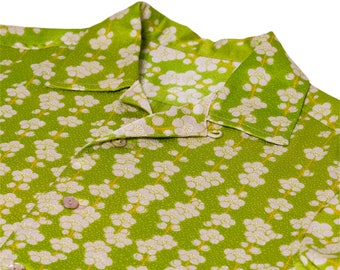 "Japanese ""KIMONO"" Aloha Shirt/jpam394"