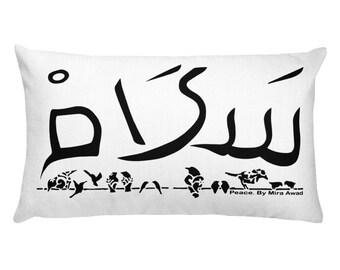 PEACE Rectangular pillow case