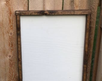 Blank Signs Framed Make Your Own Paint Yourself Wood Diy