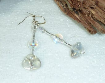 """earring Silver """"AB candy"""""""