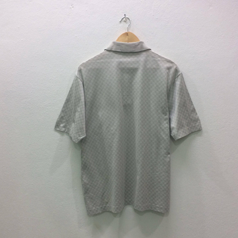 Rare christian dior polo shirts button down allover for Christian dior button up shirt