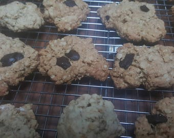 Oatmeal Cookies of Different Shapes