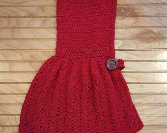 Litte Red Riding Hood Capelet/Toddler Capelet/Toddler Cape/Christmas Cape/Toddler Christmas Capelet