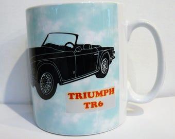 Triumph tr6 TR6 mug