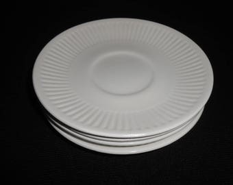 Four (4) Johnson Brothers ATHENA Saucers