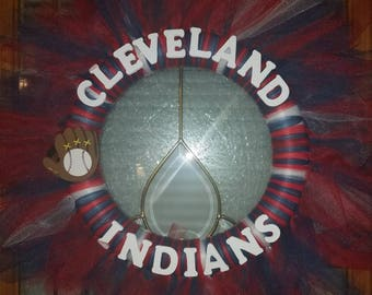 Cleveland Indians Wreath