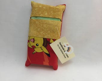 Red Pikachu Pokemon Tissue Packet cover