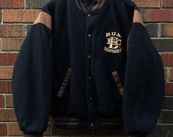 BUM Equipment varsity jacket