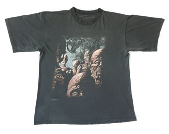 """Awesome 1997 Obituary """"Back From The Dead"""" vintage band shirt-Death, Carcass, Napalm Death, Morbid Angel, Bolt Thrower, Deicide, Autopsy"""