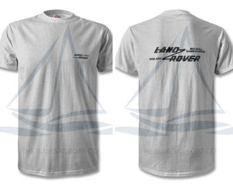 Land Rover Original Logo T Shirt, Classic, Novelty T-Shirt, Cars, Novelty Gift, Defender T-Shirt, Land Rover T-Shirt Adults