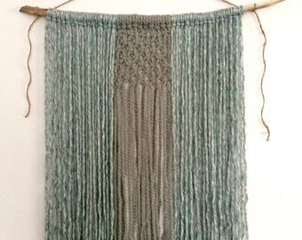 Heather: Yarn Wall Hanging