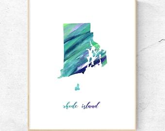 Rhode Island Art Print