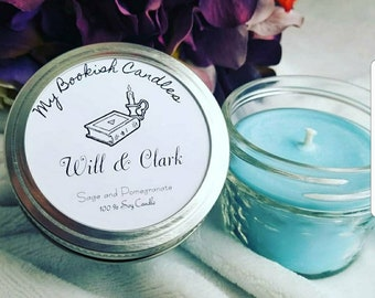 Will & Clark, Soy Candle, Mason Jar Candle