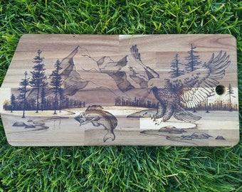 Custom pyrography and woodburning