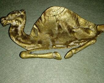 Brass Camel ashtray