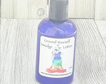 Ground Yourself Smudging Lotion