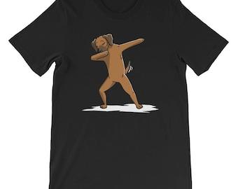 Cute Dabbing Rhodesian Ridgeback T-Shirt Funny Dog Gift