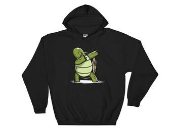 Cute Dabbing Tortoise Pet Hoodie Funny Dab Dance Gift