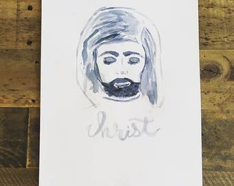 Christ Watercolor