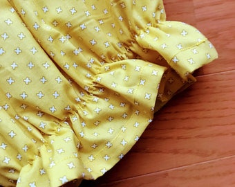 Bright yellow blouse for 2-3 years old