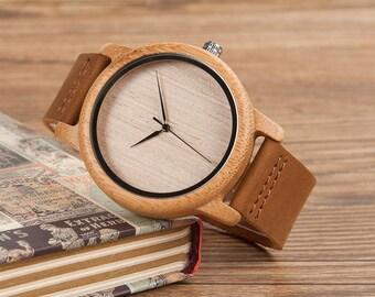 exclusive unique wooden watch