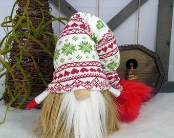 REDUCED Handmade Scandinavian/Nordic Gnome/Tomte/Nisse
