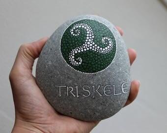 Triskele stone