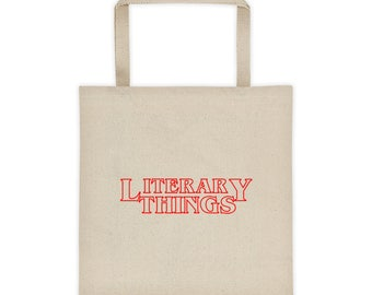 Literary Things -- Book Bag