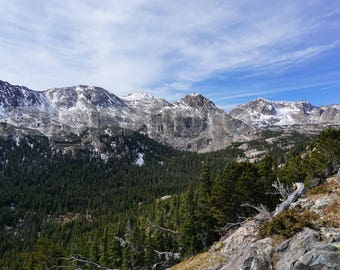 The Mountains of Arapahoe Pass Wall Art
