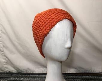 Simply Crochet Hat - Carrot