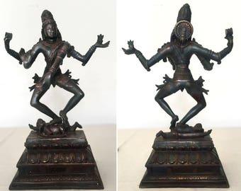 Vintage Bronze Shiva Nataraja Natesa statue