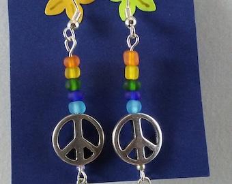 Beach rainbow Peace