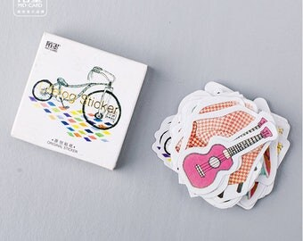 45 pcs Cute Interesting Vintage Stickers / Stationery Stickers / Scrapbooking Stickers /