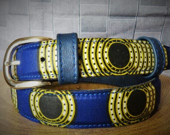 belt leather and Wax