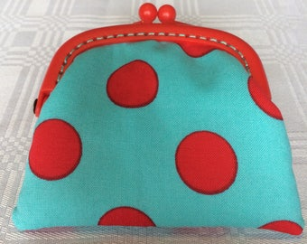 Red Dot Coin Purse