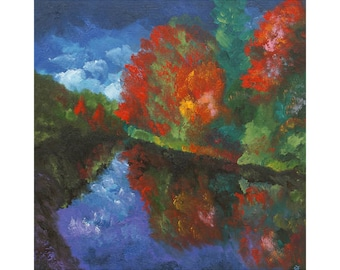 A top-quality giclee print 'Tweed in Autumn.'