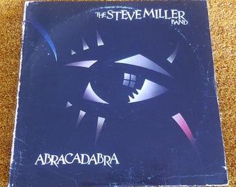 Vinyl: Steve Miller Band, Abracadabra, Free Shipping