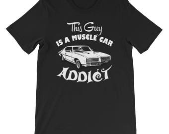 Muscle car addict Short-Sleeve Unisex T-Shirt