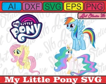 My little pony svg logo and more