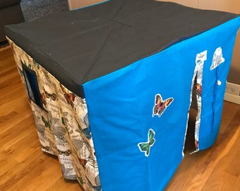 Card Table Playhouse - Butterfly Theme (2)