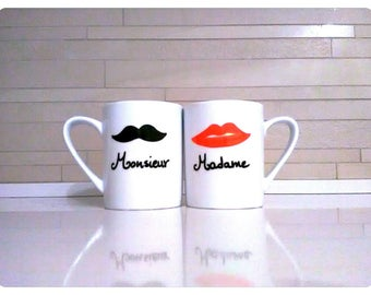 Personalized Valentine's Cups