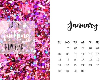 The Cuss Calendar