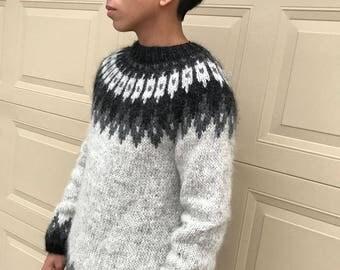 Teenage lopapeysa - Traditional Icelandic wool sweater