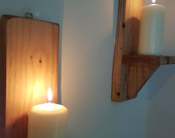 Pair of Rustic Sconce's