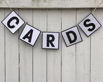 Cards banner, custom banner, cards, gifts banner