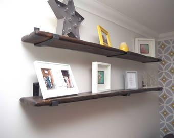Steel and Grain Co Handmade Scaffolding Shelves - Large