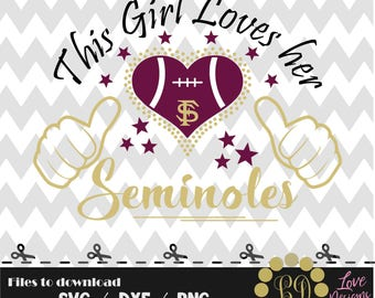 Love florida state seminoles svg,png,dxf,cricut,silhouette,college,jersey,shirt,prod,bama,razorbacks,rattlers,cut,university,football,canes