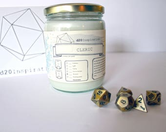 Cleric Jar Candle