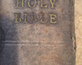 The Holy Bible- American Bible Society (Instituted in the Year 1816)-1951